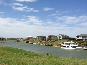 Hindmarsh Island housing estate