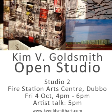 K.V. Goldsmith artist open studio