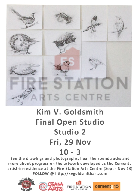 Kim V. Goldsmith Open Studio Fire Station Arts Centre