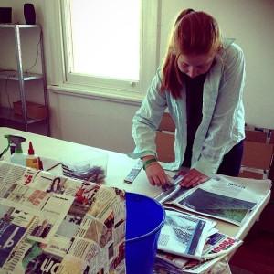 Kim V Goldsmith artist in resident