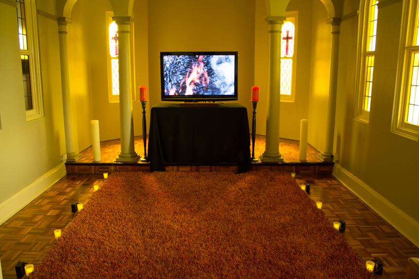 Kim V Goldsmith Indicatus installation 2015