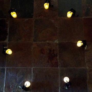 Kim V Goldsmith installation artist Indicatus Cementa
