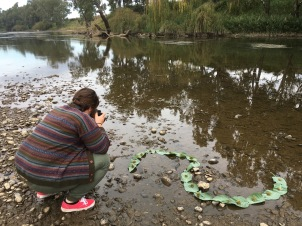 Photographing assemblages on the Macquarie River