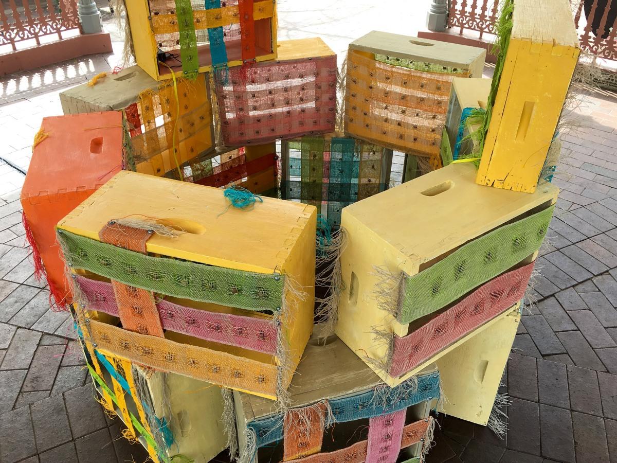 #bringtolightprojects Kim V Goldsmith Kelly Leonard Bee Box Sounds