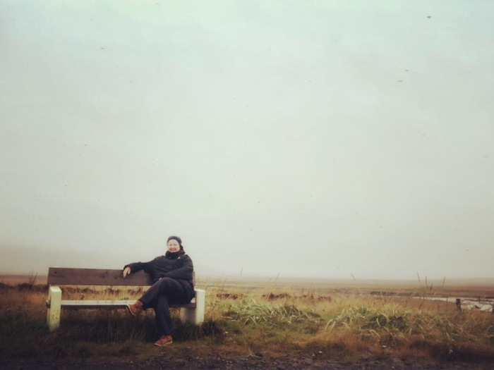 Kim V Goldsmith in Iceland