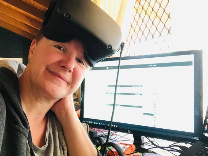 Kim V. Goldsmith VR artist