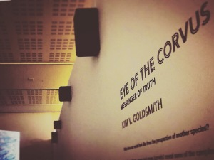 Eye of the Corvus at Western Plains Cultural Centre Dubbo