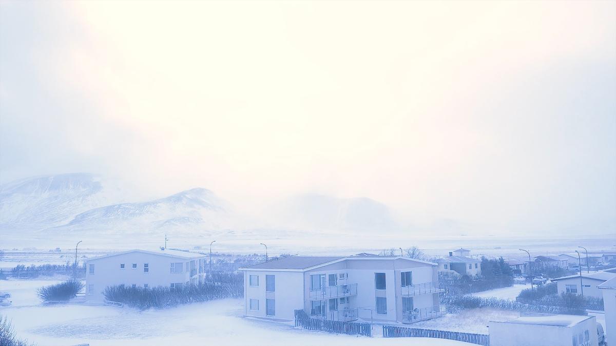 Snow storm of the Hrafnar (Eye of the Corvus)