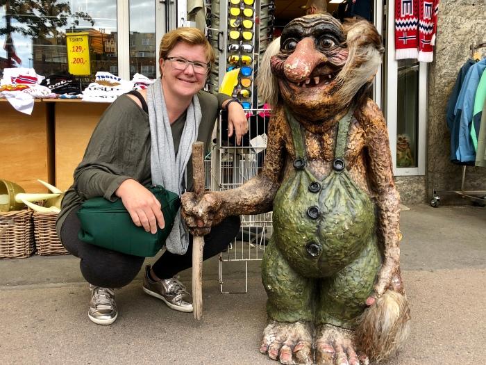 Hanging with the Norwegian trolls